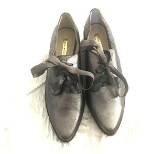 Louise et Cie Adwin loafers in Pewter! Size 8!
